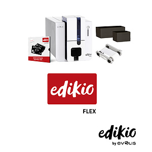 Evolis Edikio Flex Kartendrucker-Bundle