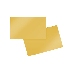 PlusCard PVC Light Gold (100)