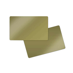 PlusCard PVC Dark Gold (100)