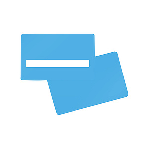 PlusCard PVC Hospital Blue Signature (100)