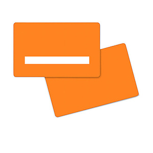 PlusCard PVC Orange Signature (100)
