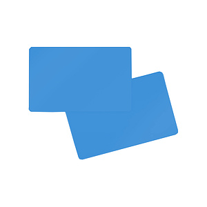 PlusCard PVC Middle Blue (100)