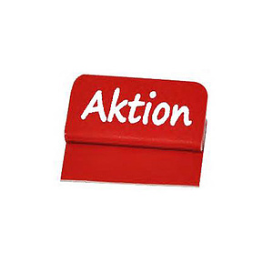 Aktionsreiter PVC 26 x 13 mm rot .Aktion. (1)